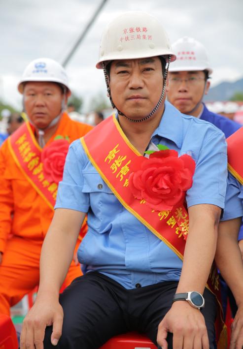 中国中铁举办建党96周年京张高铁劳动竞赛