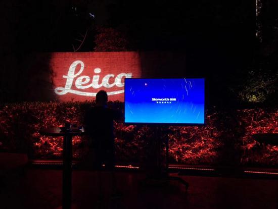 最好的相片遇见最好的屏幕创维点燃莱卡之夜