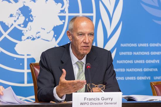 世界知识产权组织总干事弗朗西斯-高锐(Francis Gurry)