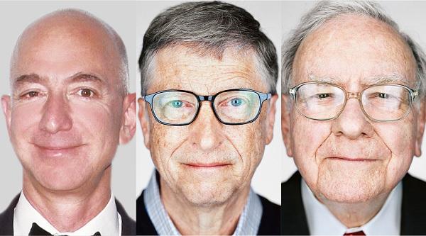 福布斯发布2018年全球亿万富豪榜:巴菲特排第二
